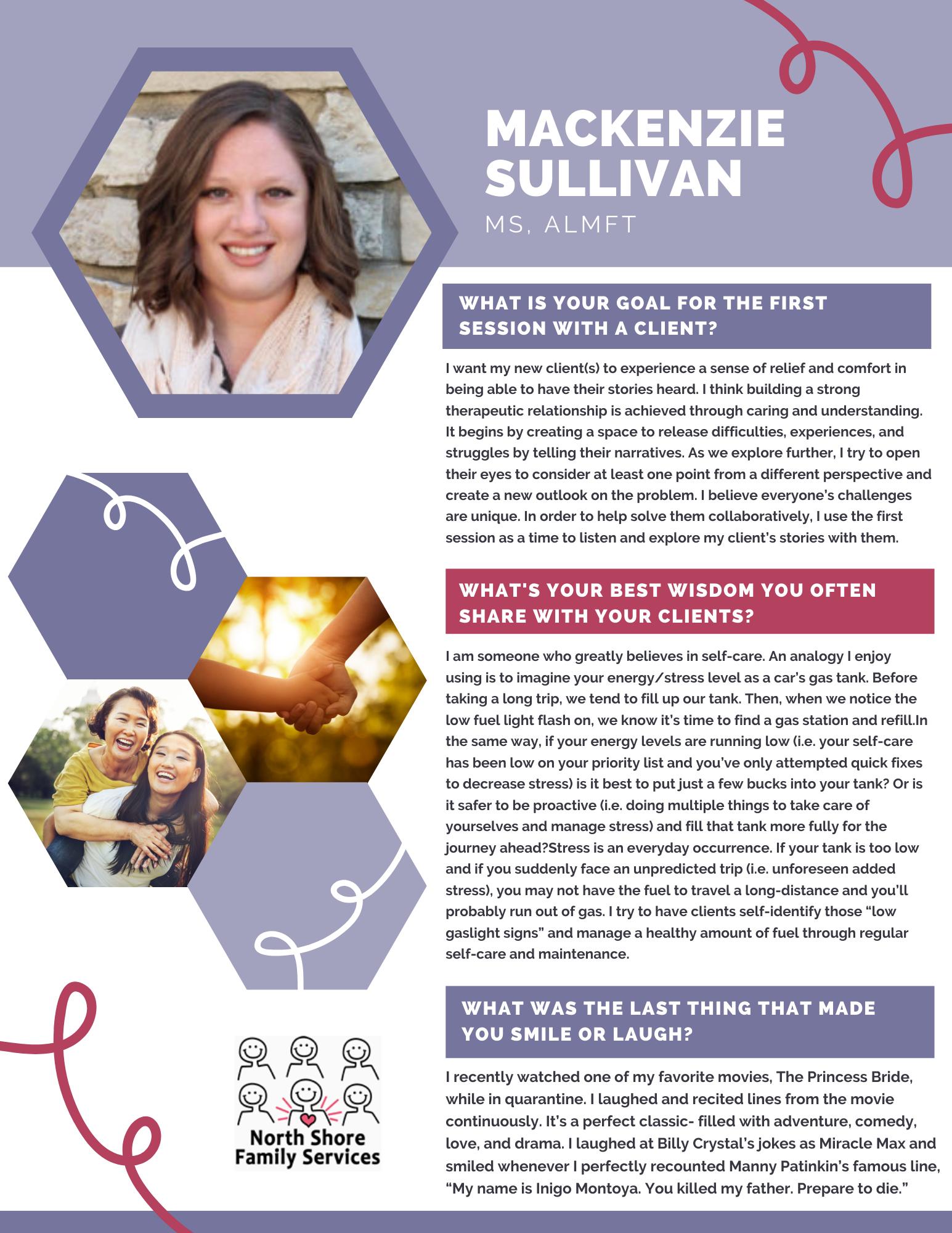 NSFS Therapist - Mackenzie Sullivan